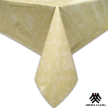 【M.B.H】水果花園PVC防水桌巾(黃)-132x178cm