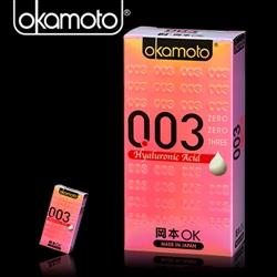 岡本003-HA 玻尿酸極薄保險套(東森得意購6入裝)