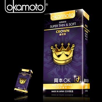 Okamoto岡本-皇冠型保險套(10入裝)