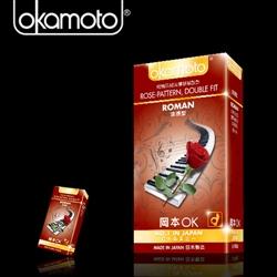Okamo東森購物手機to岡本-浪漫型保險套(10入裝)
