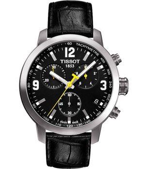 TISSOT 競速三眼計時腕錶-黑T0554171605700