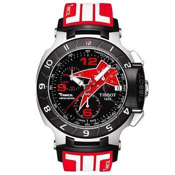TISSOT 2012 賽車腕錶-紅 T0484172705708