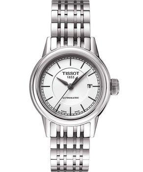 TISSOT經典機械女錶-銀 T0852071101100