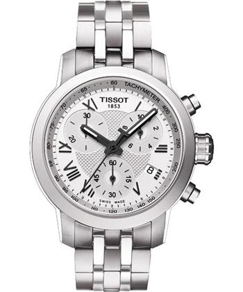 TISSOT 唯美時尚計時腕錶-銀T0552171103300