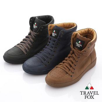 Travel Fox(男) 旅途系列 超軟經典高筒運動鞋