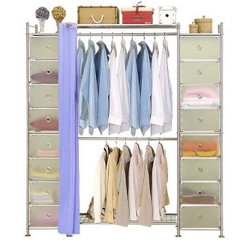 【巴塞隆納】W2+2D型90公分衣櫥櫃