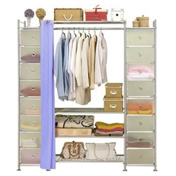 【巴塞隆納】W4+2D型90公分衣櫥櫃