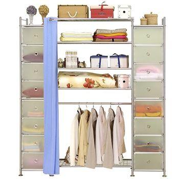【巴塞隆納】W5+2D型90公分衣櫥櫃