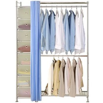 【巴塞隆納】W2+D型90公分衣櫥櫃