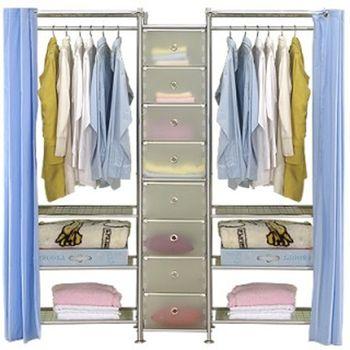 【巴塞隆納】W4型60+D+W4型60衣櫥置物櫃