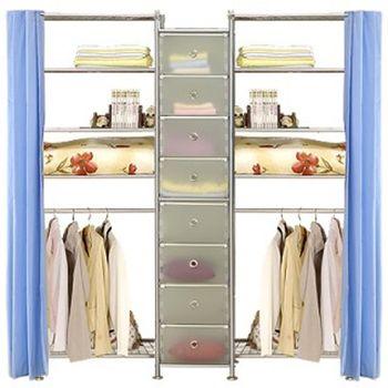 【巴塞隆納】W5型60+D+W5型60衣櫥置物櫃