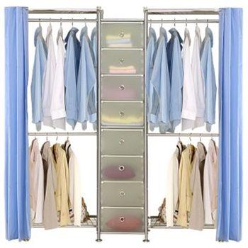 【巴塞隆納】W2型60+D+W2型60衣櫥置物櫃