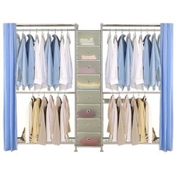 【巴塞隆納】W2型90+D+W2型90衣櫥置物櫃