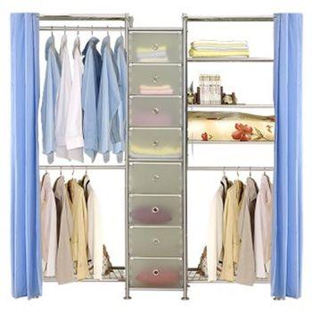 【巴塞隆納】W2型60+D+W5型60衣櫥置物櫃