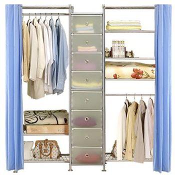 【巴塞隆納】W3型60+D+W5型60衣櫥置物櫃