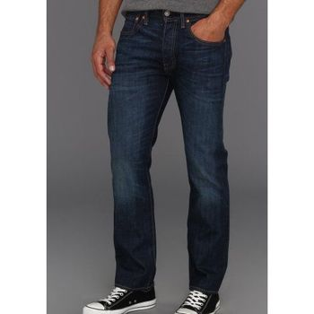 Levi's 501經典鈕扣Galindo低腰合身深藍牛仔褲