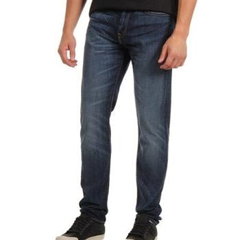 Levi's 508Quincy街頭風格低腰腿瘦合身牛仔褲