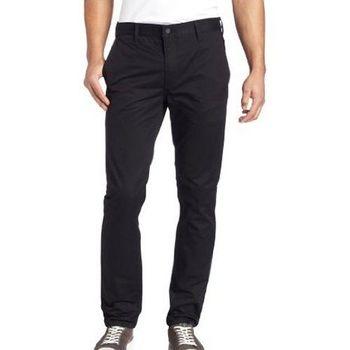Levi's 511 時尚黑色彈力修身合體斜紋褲