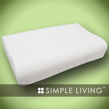 【SIMPLE LIVING】人體工學乳膠枕(1入)