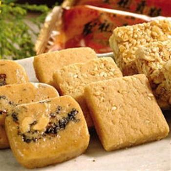 【聖祖貢糖】鹹酥+蒜味+軟貢糖(共6包)組