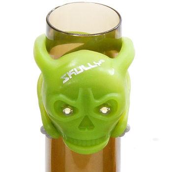 【SKULLY】白光骷髏燈2128-324(綠色白光)