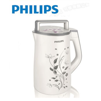 【飛利浦】全能營養豆漿機HD2072送黃豆一包