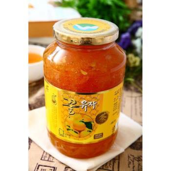 韓國柚子茶4罐入