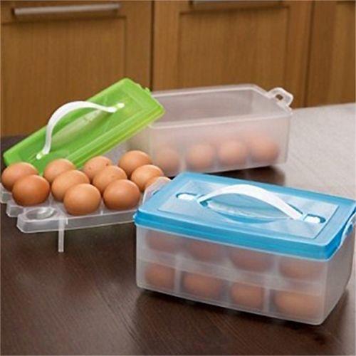24入雙層雞蛋保鮮收納盒