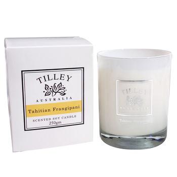 Tilley百年特莉大溪地赤素馨香氛大豆蠟燭240g