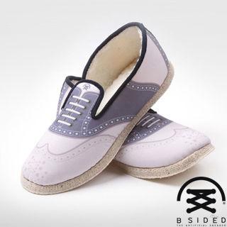 【BSIDED女鞋】BSIDED BETULA PINK -仿真時尚設計印刷休閒鞋(復古粉)