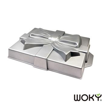 【WOKY沃廚】焙寧系列-禮盒不沾蛋糕模具