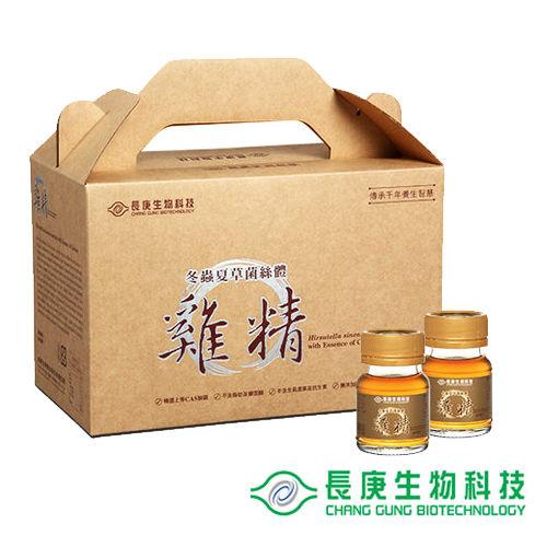 長庚生技 冬蟲夏草菌絲體雞精(30入)1盒