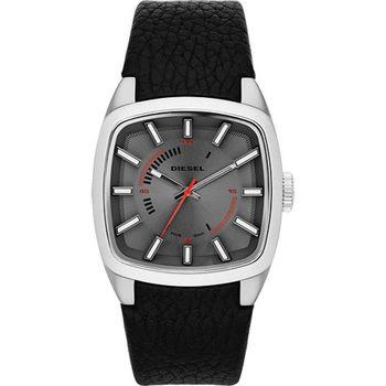 DIESEL 風暴計畫立體玩家腕錶-灰/黑 DZ1620