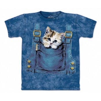 【摩達客】預購3XL-The Mountain 口袋貓T恤(男)