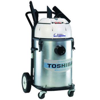 《TOSHIBA東芝》雙渦輪工業用乾濕吸塵器 TVC-1060