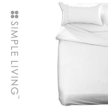 【SIMPLE LIVING】素色系列被套-單人(白色)