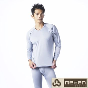 【METEN】精典彩色內刷毛圓領長袖上衣6件組 隨機取色002