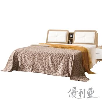【優利亞】碧玉雙人5尺床頭箱
