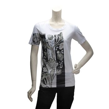 BALENCIAGA變形蟲花朵短袖T恤(女)274086-9000