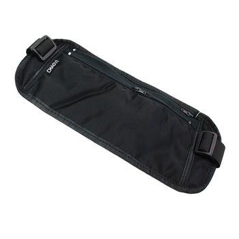 PUSH!嚴選 超薄腰包騎行包防搶防盜腰包護照包隱形貼身腰包CHA