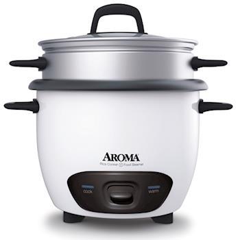 《AROMA》炫白 蒸煮美食料理鍋ARC-747-ING