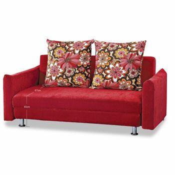【HB】午茶時間坐臥兩用沙發床(B14)
