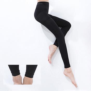 足美適彈性襪 內搭九分280丹西德棉褲襪(三雙)翹臀.分段緊度