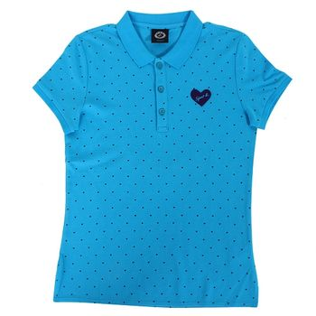 agnes b. SPORT.b腰身polo衫(1)藍