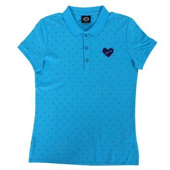agnes b. SPORT.b腰身polo衫(2)藍
