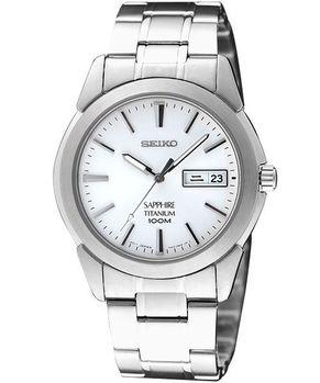【SEIKO】鈦金王子標準腕錶(白)7N43-0AS0S