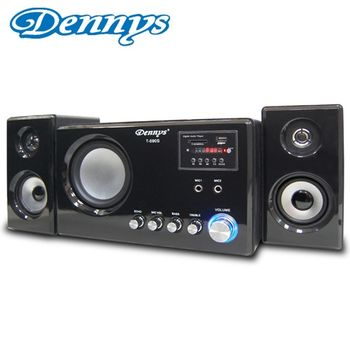 《Dennys》USB/FM/SD多媒體2.1喇叭T-690S
