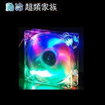 EVERCOOL 九公分四色燈系統風扇