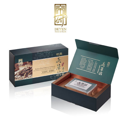 【DEYEN帝研】 破壁蟲草菇菌絲體1盒(60粒/盒)