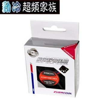 EVERCOOL 6公分靜音風扇(厚度15mm)